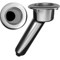 Mate Series Elite Screwless Stainless Steel 30 Rod  Cup Holder - Drain - Round Top [C1030DS]