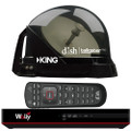 KING DISH Tailgater Pro Premium Satellite Portable TV Antenna w\/DISH Wally HD Receiver [DTP4950]