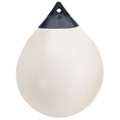 "Polyform A Series Buoy A-1 - 11"" Diameter - White [A-1 WHITE]"