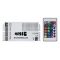 HEISE Sound Activated RGB Controller w\/IR Remote [HE-RGBSAC-1]