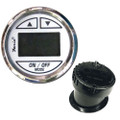 """Faria 2"""" Depth Sounder w\/In-Hull Transducer - Chesapeake White - Stainless Steel Bezel [13851]"""