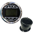 "Faria 2"" Depth Sounder w\/In-Hull Transducer - Black - Stainless Steel Bezel [13751]"