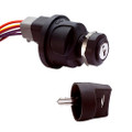 Cole Hersee 3 Position Sealed Ignition Switch [95060-60-BP]