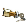 Cole Hersee 2 Position Brass Ignition Switch [M-489-BP]