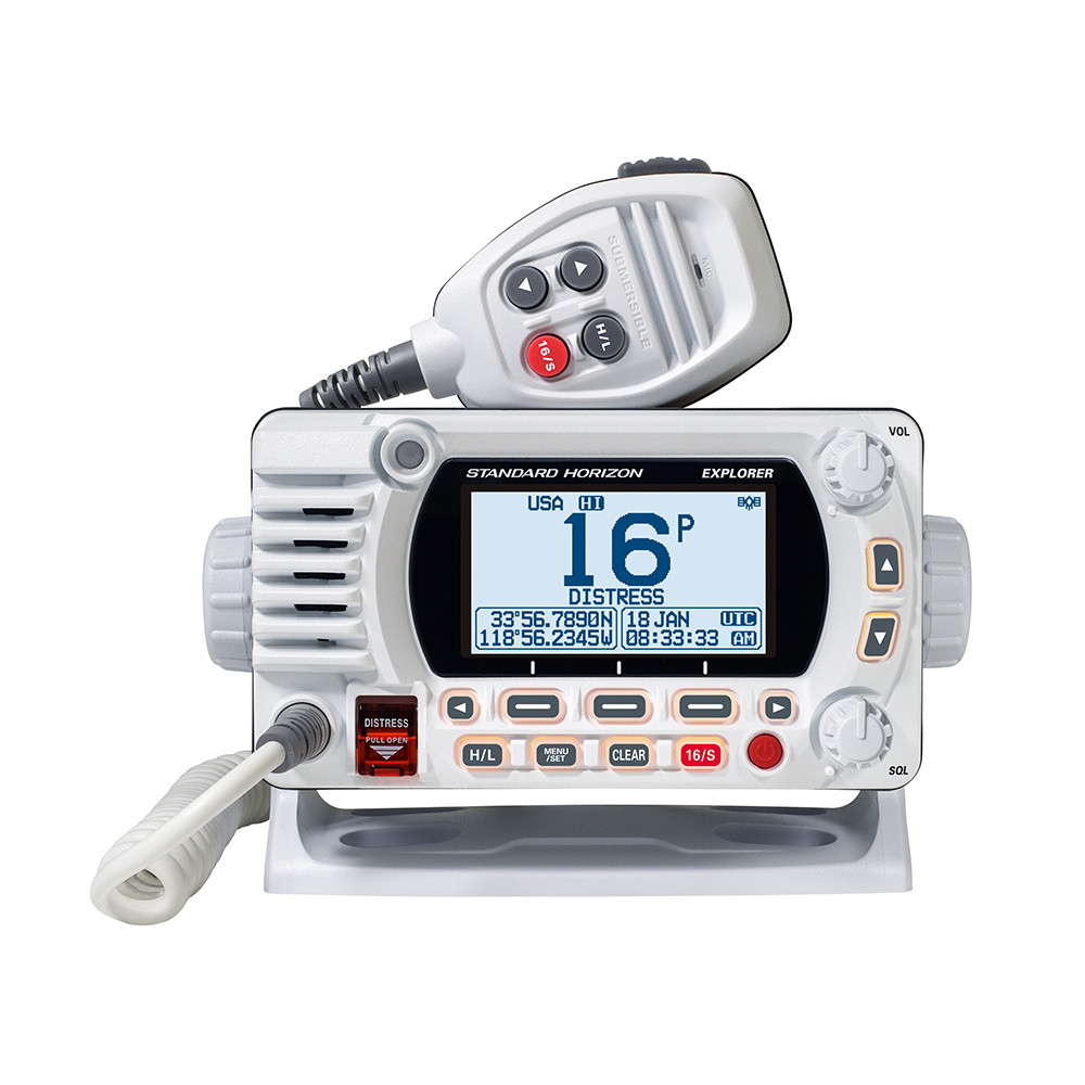 Black Standard Horizon GX1600 Explorer VHF