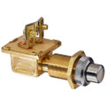 Cole Hersee Heavy Duty Push Button Switch w\/Gasket Seal SPST Off-On 2 Screw - 10A [M-485-BP]