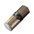 Lunasea BA15D Silicone Encapsulated LED Light Bulb - Warm White [LLB-26KW-21-00]