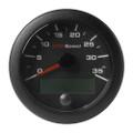 "VDO 3-3\/8"" (85mm) OceanLink GPS Speedometer 0-35 - Black Dial  Bezel [A2C1351980001]"