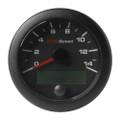 "VDO 3-3\/8"" (85mm) OceanLink GPS Speedometer 0-14 - Black Dial  Bezel [A2C1351970001]"