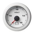"""VDO 2-1\/16"""" (52MM) OceanLink Battery Voltage 8-16 V White Dial  Bezel [A2C1066110001]"""