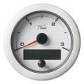 """VDO 3-3\/8"""" (85mm) OceanLink NMEA 2000 Tach - 3000 RPM - White Dial  Bezel [A2C1065670001]"""