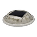 Hydro Glow C1R Round Solar Dock, Deck  Pathway Light - Red [C1R]