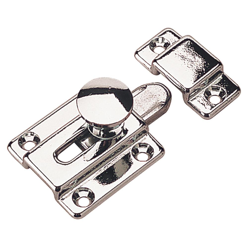 Sea Dog 222522-1 Chrome Brass Barrel Bolt Lock