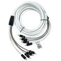 FUSION EL-FRCA25 25 Standard 4-Way RCA Cable [010-12894-00]
