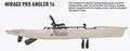 Hobie Mirage Pro Angler 14 -2021