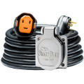 SmartPlug RV Kit 30 Amp 30 Dual Configuration Cordset - Black (SPX X Park Power)  Stainless Steel Inlet [R30303BM30NT]