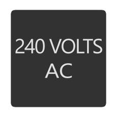 Blue Sea 6520-0008 Square Format 240 Volts AC Label [6520-0008]