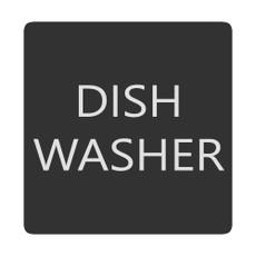 Blue Sea 6520-0138 Square Format Dish Washer Label [6520-0138]