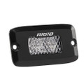 RIGID Industries SR-M Series Pro Diffused Flush Mount - Black [922513]