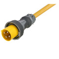 Marinco 100 Amp 125\/250V 3-Pole, 4-Wire Shore Power Cordset - Neutral Wire - One-Ended Male Only - Blunt Cut - 75 [CW754]