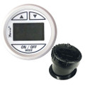 """Faria 2"""" Depth Sounder Dress White w\/In-Hull Mounted Transducer [13151]"""