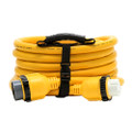 Camco 50 Amp Power Grip Marine Extension Cord - 25 M-Locking\/F-Locking Adapter [55621]