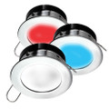 i2Systems Apeiron A1120 Spring Mount Light - Round - Red, Cool White  Blue - Polished Chrome [A1120Z-11HAE]