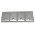 "Tecnoseal Magnesium Plate Anode 7.5"" x 2.75"" x 1\/2"" [TEC-40MG]"