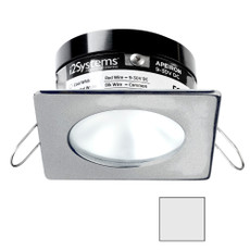 i2Systems Apeiron PRO A503 - 3W Spring Mount Light - Square\/Round - Cool White - Brushed Nickel Finish [A503-42AAG]