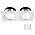 i2Systems Apeiron A1110Z - 4.5W Spring Mount Light - Double Round - Cool White - Brushed Nickel Finish [A1110Z-45AAH]