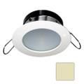 i2Systems Apeiron A1110Z - 4.5W Spring Mount Light - Round - Warm White - White Finish [A1110Z-31CAB]