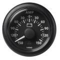 """VDO 2-1\/16"""" (52mm) Viewline Battery Status Gauge -150\/+150 AMP - 8 to 32V - Black Dial  Bezel [A2C59512329]"""