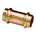 "ProPress 1-1\/2"" Copper Coupling w\/Stop - Double Press Connection - Smart Connect Technology [78067]"