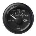 "VDO Marine 2-1\/16"" (52mm) ViewLine Transmission Oil Pressure 400 PSI\/25 Bar - 8-32V - Black Dial  Round Bezel [A2C59514145]"