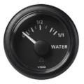 "VDO Marine 2-1\/16"" (52mm) ViewLine Fresh Water Resistive 0-1\/1 - 8-32V - 3-180 OHM - Black Dial  Round Bezel [A2C59514097]"