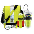 ACR GlobalFix V4 EPIRB Survival Kit w\/Rapid Ditch Bag, C-Strobe, H2O Signal Mirror, Rescue Whistle, HemiLight, ResQFlare  Distress Flag [2356]
