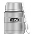 Thermos 16oz Stainless Steel Food Jar w\/Folding Spoon - 9 Hours Hot\/14 Hours Cold [SK3000MSTRI4]