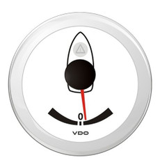 "VDO Marine ViewLine 3-3\/8"" (52mm) Rudder Angle Indicator - 40 Port\/Starboard [A2C59514230]"