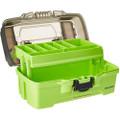 Plano 1-Tray Tackle Box w\/Dual Top Access - Smoke  Bright Green [PLAMT6211]