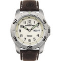 Timex Expedition Mens Traditional Silver\/Brown [T46681]