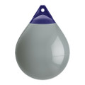 "Polyform A Series Buoy A-4 - 20.5"" Diameter - Grey - Boat Size 50 - 60 [A-4-GREY]"