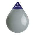 "Polyform A Series Buoy A-5 - 27"" Diameter - Grey - Boat Size 60 - 70 [A-5-GREY]"
