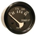 "VDO Cockpit Marine 52mm (2-1\/16"") 250 F Water Temperature Gauge - Black Dial\/Bezel [310-11801]"