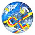 """Aqua Leisure 48"""" Pipeline Sno Mega 2-Person Sno-Tube - Freestyle [AWT4249]"""