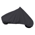 "Carver Sun-Dura Full Dress Touring Motorcycle w\/Up to 15"" Windshield Cover - Black [9003S-02]"