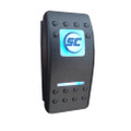 Shadow-Caster 3-Position On\/Off\/Momentary Marine LED Lighting Switch [SCM-SWITCH-O\/O\/M]