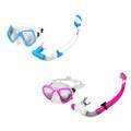 Aqua Leisure Gemini Pro Adult Combo Dive Set Mask  Snorkel *Assorted Colors [DPC17864A2P4]