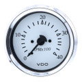 "VDO Cockpit Marine 85MM (3-3\/8"") Diesel Tachometer - 4000 RPM - White Dial\/Chrome Bezel [333-15273]"