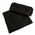 Whitecap Seat Cushion Set f\/Directors Chair - Black [97241]