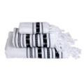 Marine Business White\/Anchors Towel Set - SANTORINI - Set of 3 [53103]